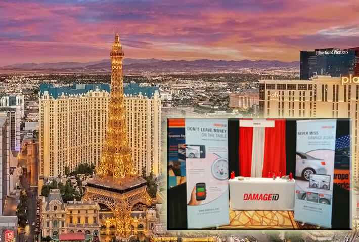 DAMAGEiD at the International Car Rental Show in Las Vegas